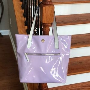 ♠️Kate Spade Patent Leather tote/shoulder bag♠️